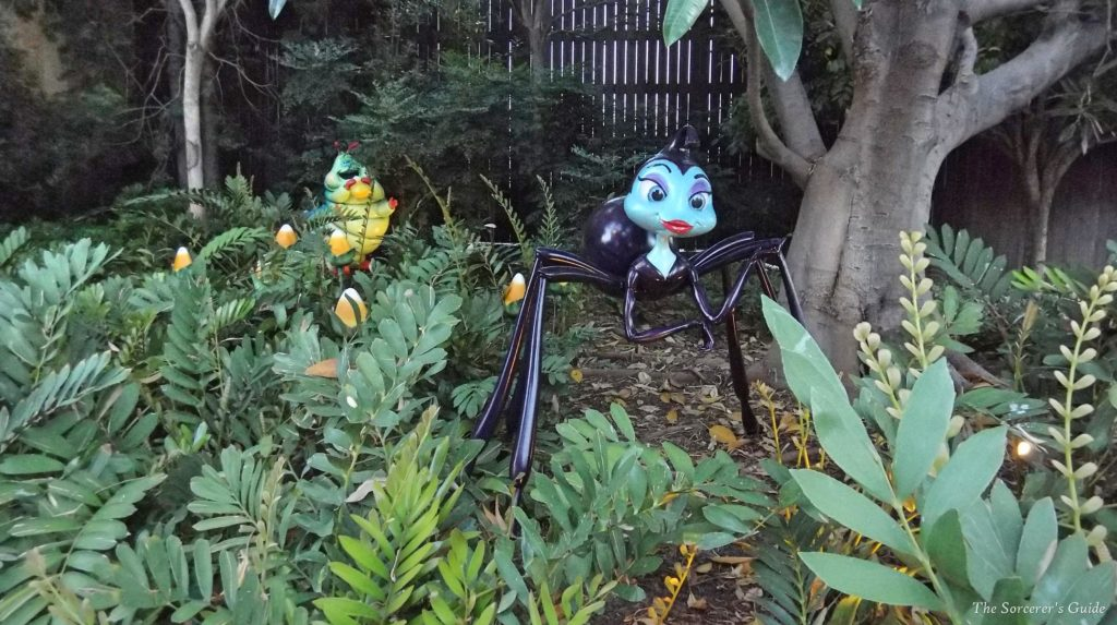 Heimlich and Rosie outside A Bug's Land