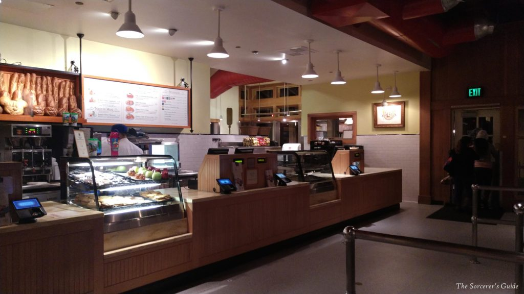 Pacific Wharf Cafe Counter