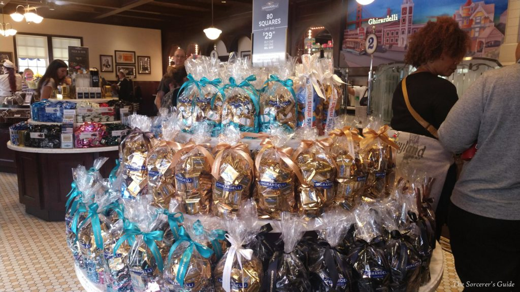 Ghirardelli In Store Gift Bags