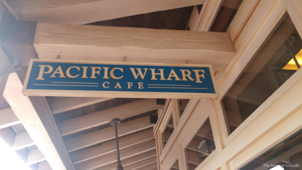 Pacific Wharf Cafe Sign