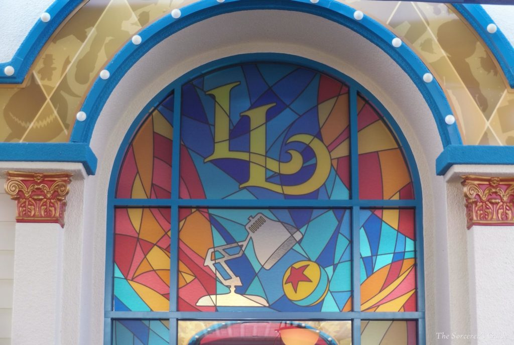 Lamplight Lounge Stained Glass Window