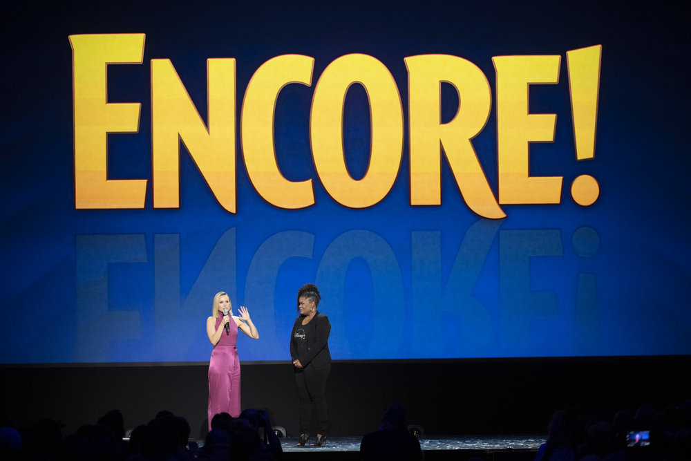 Kristin Bell's new project, Encore!, will be coming to Disney+ in November of 2019. The show was announced at the 2019 D23 Expo.