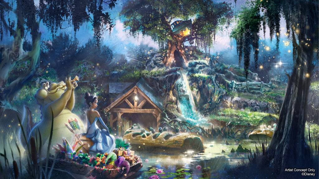 New attraction concept art